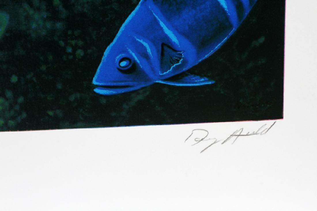 DOUG AULD COLOR OFFSET LITHOGRAPHS - 6