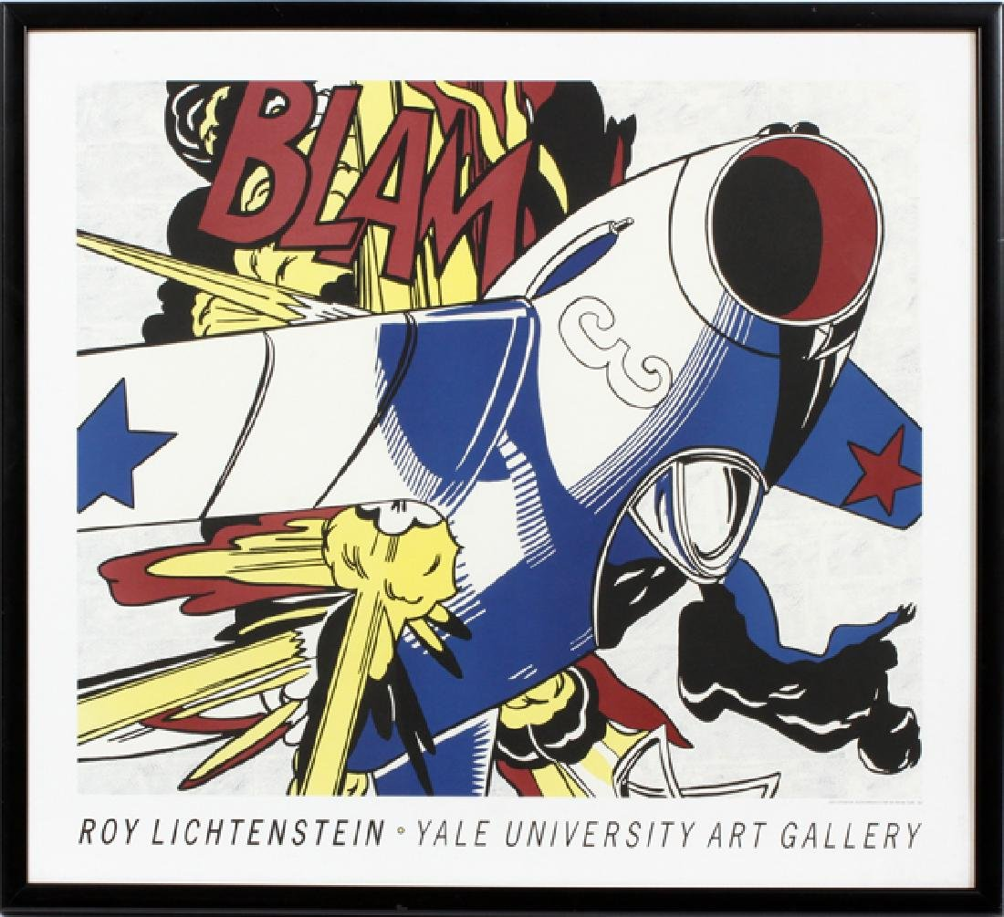ROY LICHTENSTEIN REPRODUCTION POSTER, C. 1962
