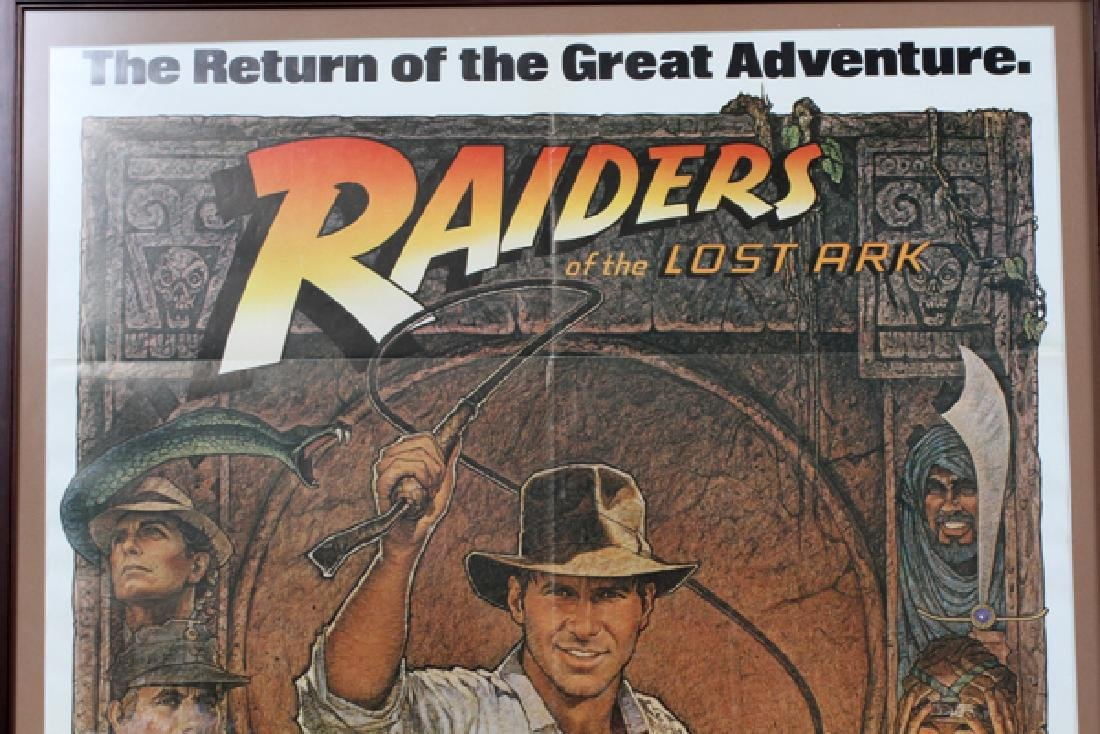 """""""RAIDERS OF THE LOST ARK"""" MOVIE POSTER - 2"""