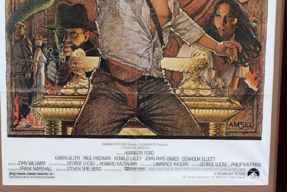 """""""RAIDERS OF THE LOST ARK"""" MOVIE POSTER - 3"""