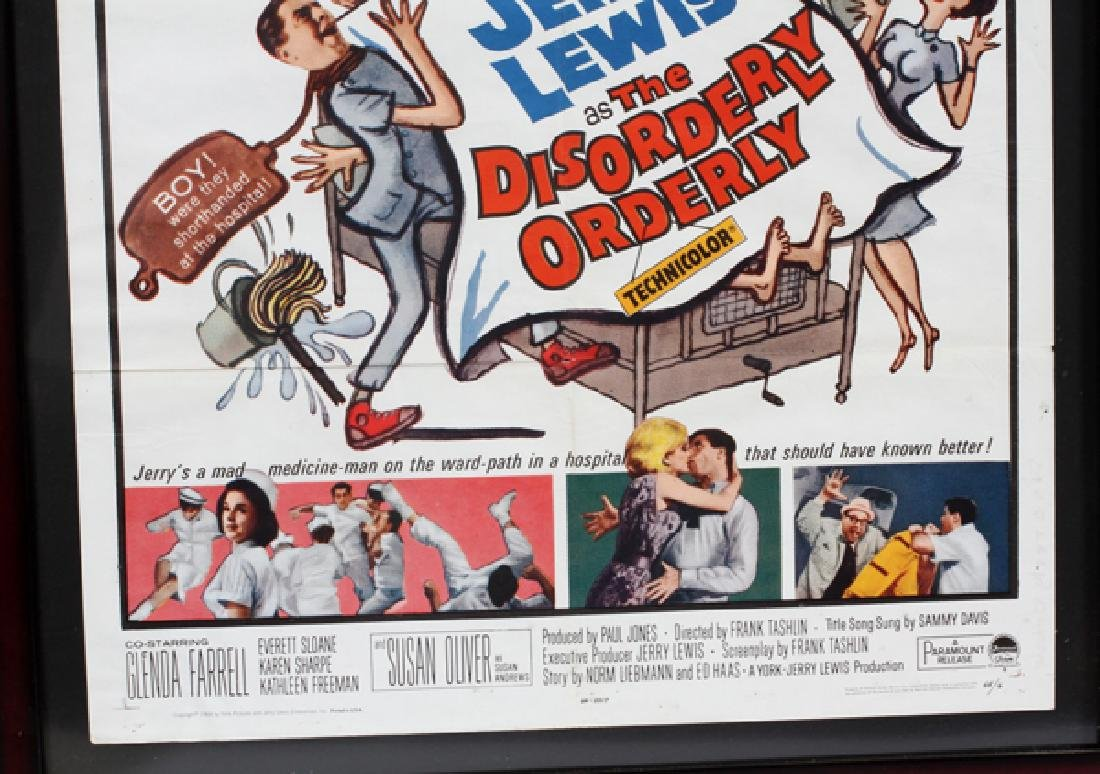 """THE DISORDERLY ORDERLY"" MOVIE POSTER, C. 1965 - 2"