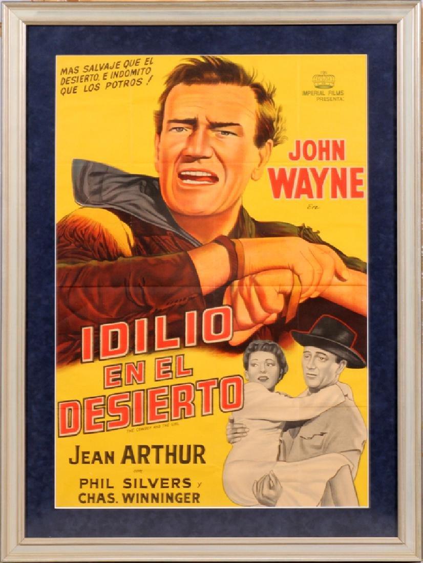"""""""IDILIO EN EL DESIERTO"""" MOVIE POSTER, C. 1943"""
