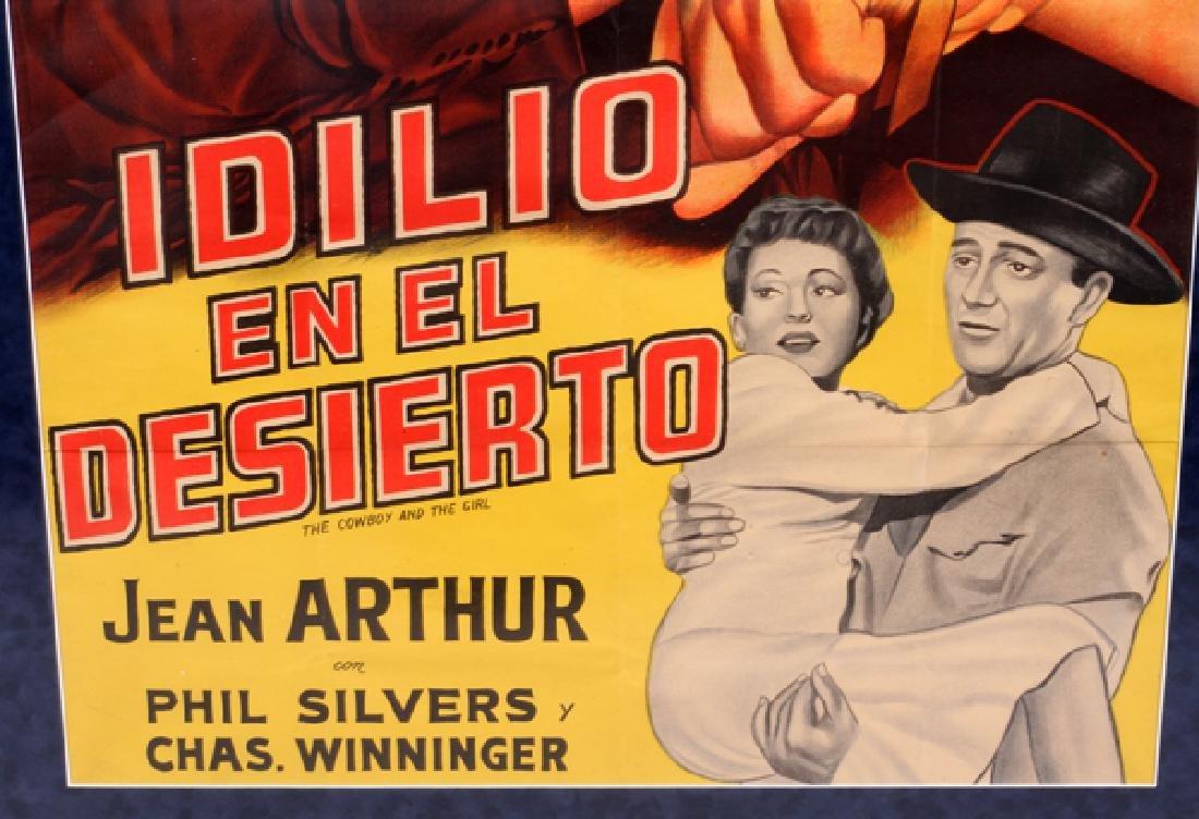 """""""IDILIO EN EL DESIERTO"""" MOVIE POSTER, C. 1943 - 3"""