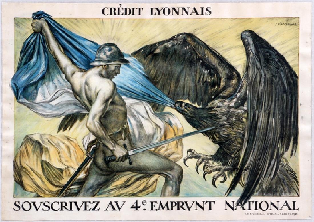 "JULES FAIVRE ""CREDIT LYONNAIS, EMPRUNT NATIONAL"""