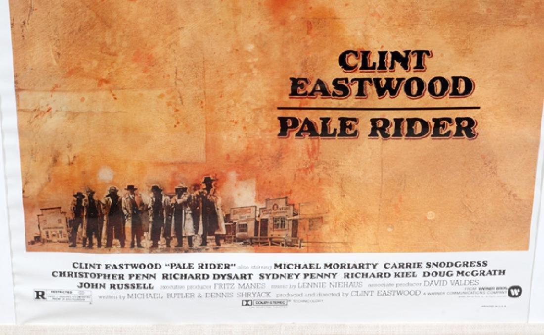"""PALE RIDER"" MOVIE POSTER, C. 1985 - 2"
