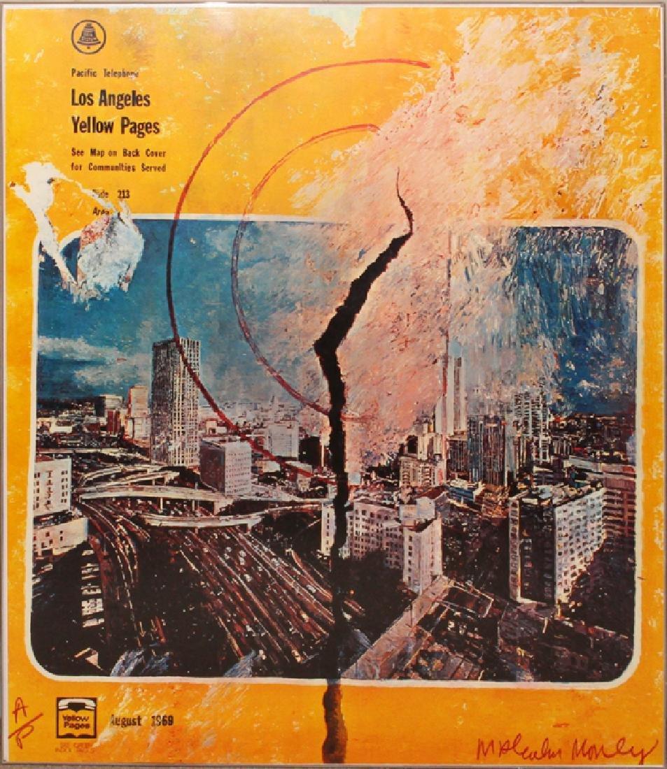 MALCOLM MORLEY SILKSCREEN, C. 1969