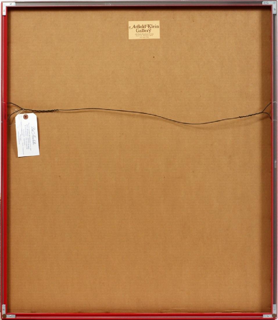 "THOMAS BAYRLE SIGNED LITHOGRAPH ""FRAGMENT"" - 4"
