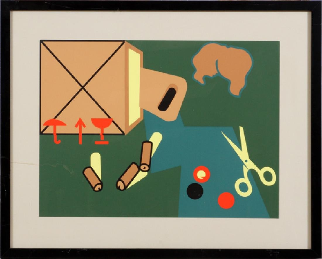 SIGNED CONTEMPORARY STILL LIFE PAINTING, C. 1972 - 2