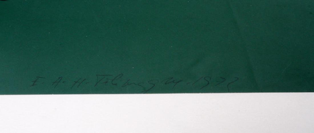 SIGNED CONTEMPORARY STILL LIFE PAINTING, C. 1972 - 3