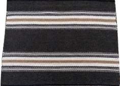 "HEIJU OAK PACKARD WOOL MAT, W 2' 10"", L 3' 10"""
