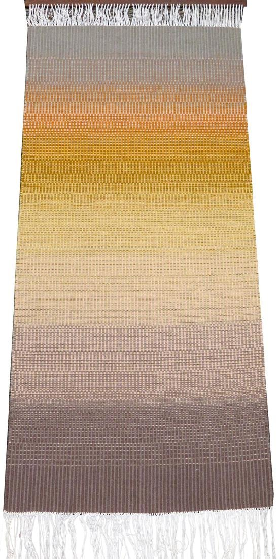 "HEIJU OAK PACKARD WOOL WEAVING, W 2' 4"", L 4' 11"""