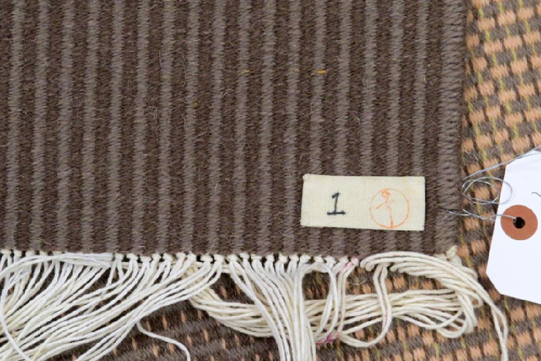 "HEIJU OAK PACKARD WOOL WEAVING, W 2' 4"", L 4' 11"" - 5"