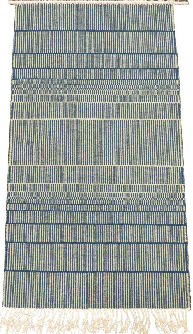 "HEIJU OAK PACKARD WOOL WEAVING, W 2' 4"", L 4' 2"""