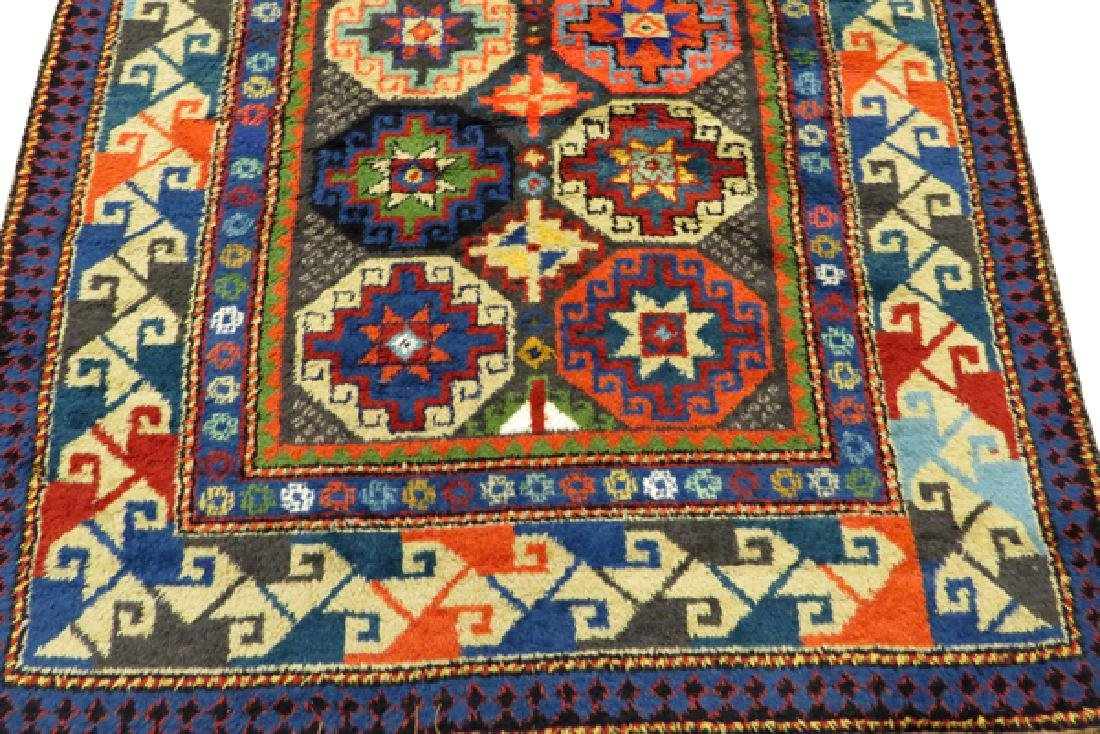 KAZAK STYLE MACHINE MADE WOOL RUG - 2