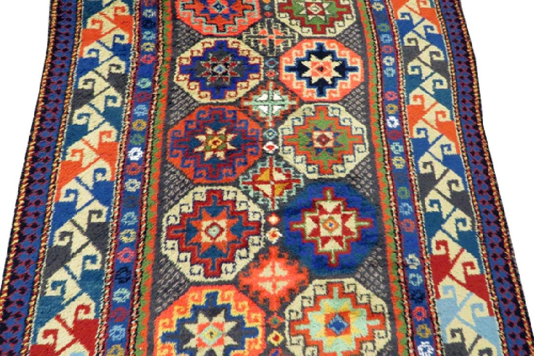 KAZAK STYLE MACHINE MADE WOOL RUG - 3