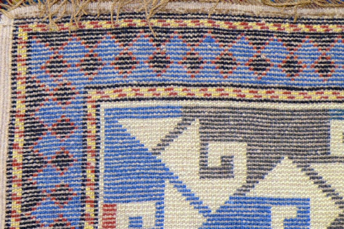 KAZAK STYLE MACHINE MADE WOOL RUG - 4