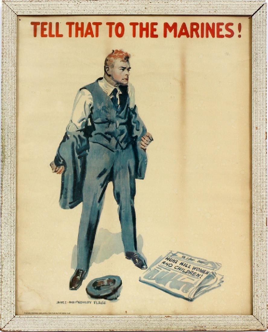 JAMES MONTGOMERY FLAGG POSTER, C. 1917