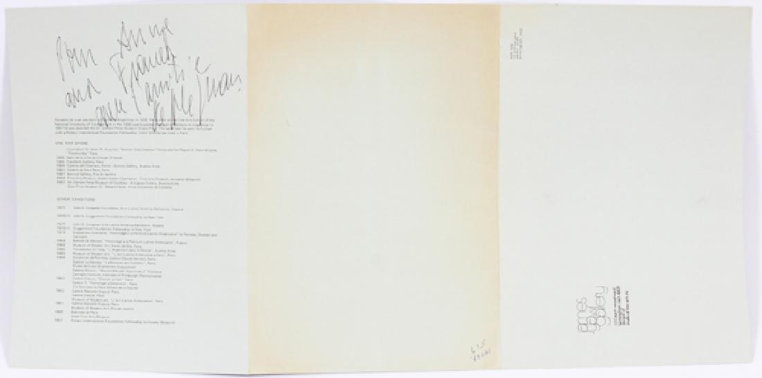 RONALD DE JUAN ACRYLIC ON BOARD 1972 - 8