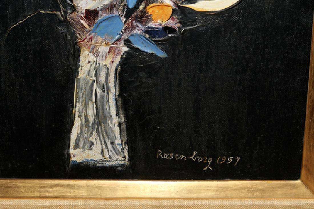 RALPH ROSENBORG OIL ON CANVAS, 1957 - 2