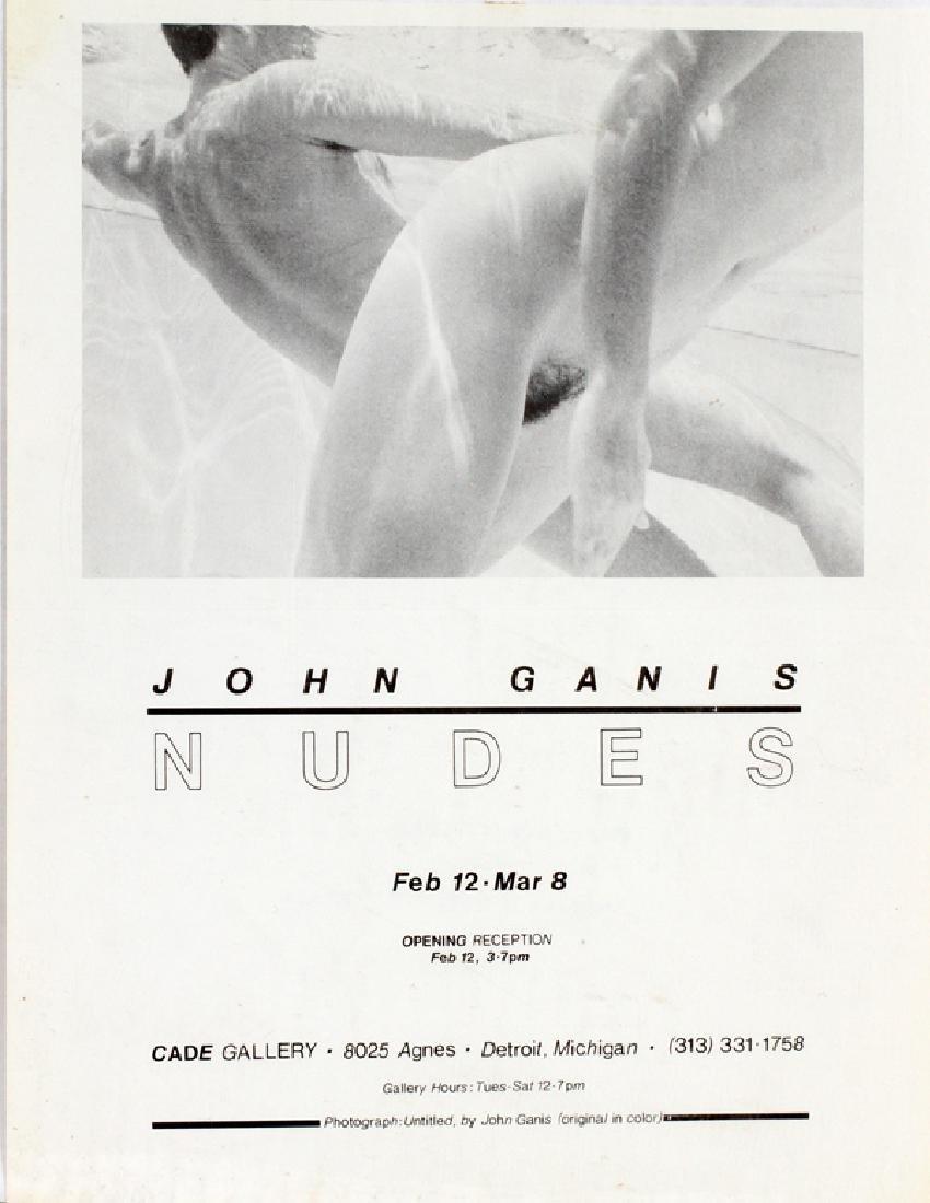 JOHN GANIS CIBACHROME PHOTOGRAPHS 1981 - 5