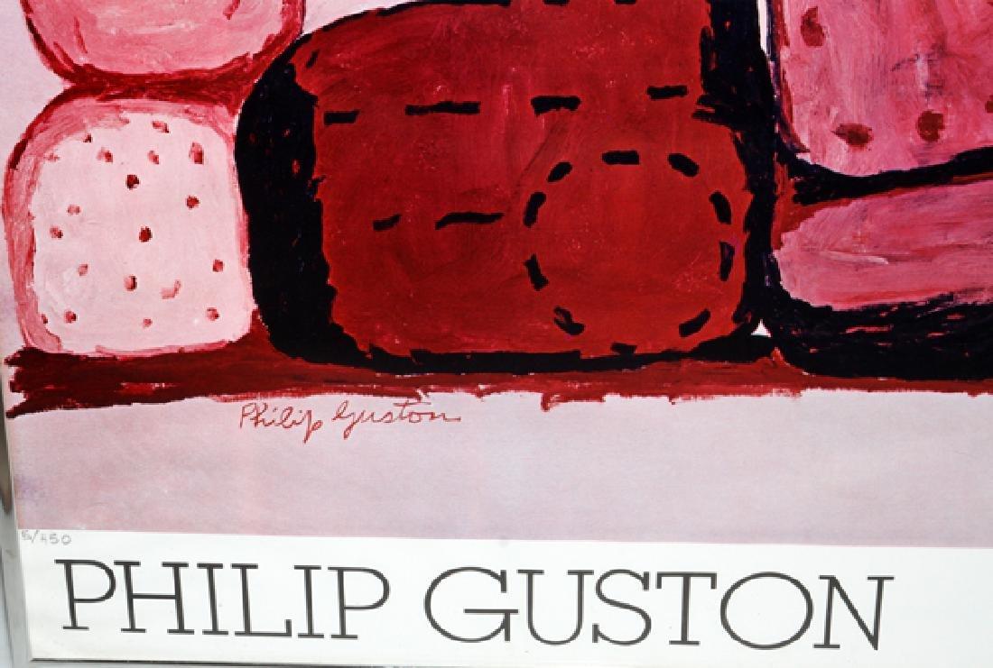 "PHILIP GUSTON POSTER ""RAIN CLOUD"" 130/225 - 2"