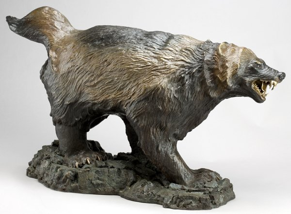 020014: PETER ROMANO BRONZE WOLVERINE, SIR