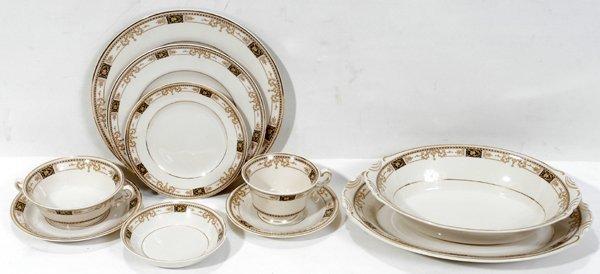 020103: SYRACUSE CHINA 'OLD IVORY' DINNER SERVICE
