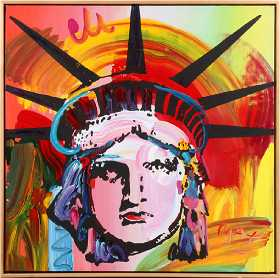 Peter Max Prices 4 811 Auction Price Results