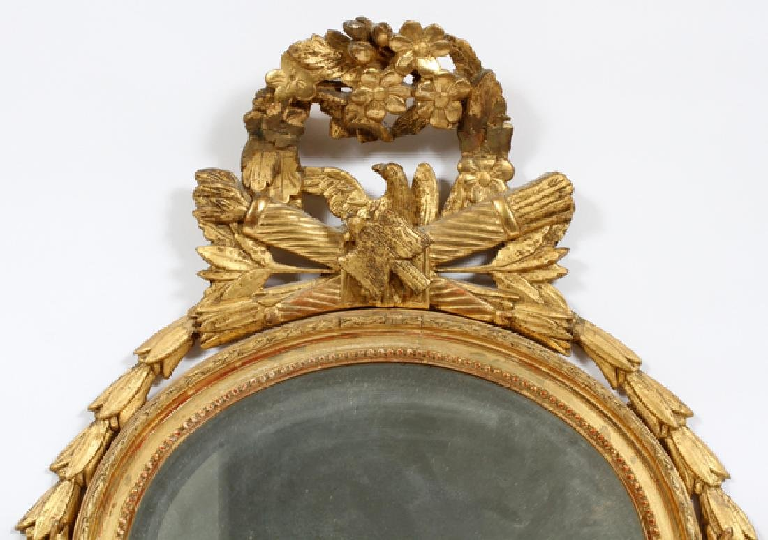 FEDERAL STYLE, GILT WOOD & GESSO MIRROR, C 1900 - 2