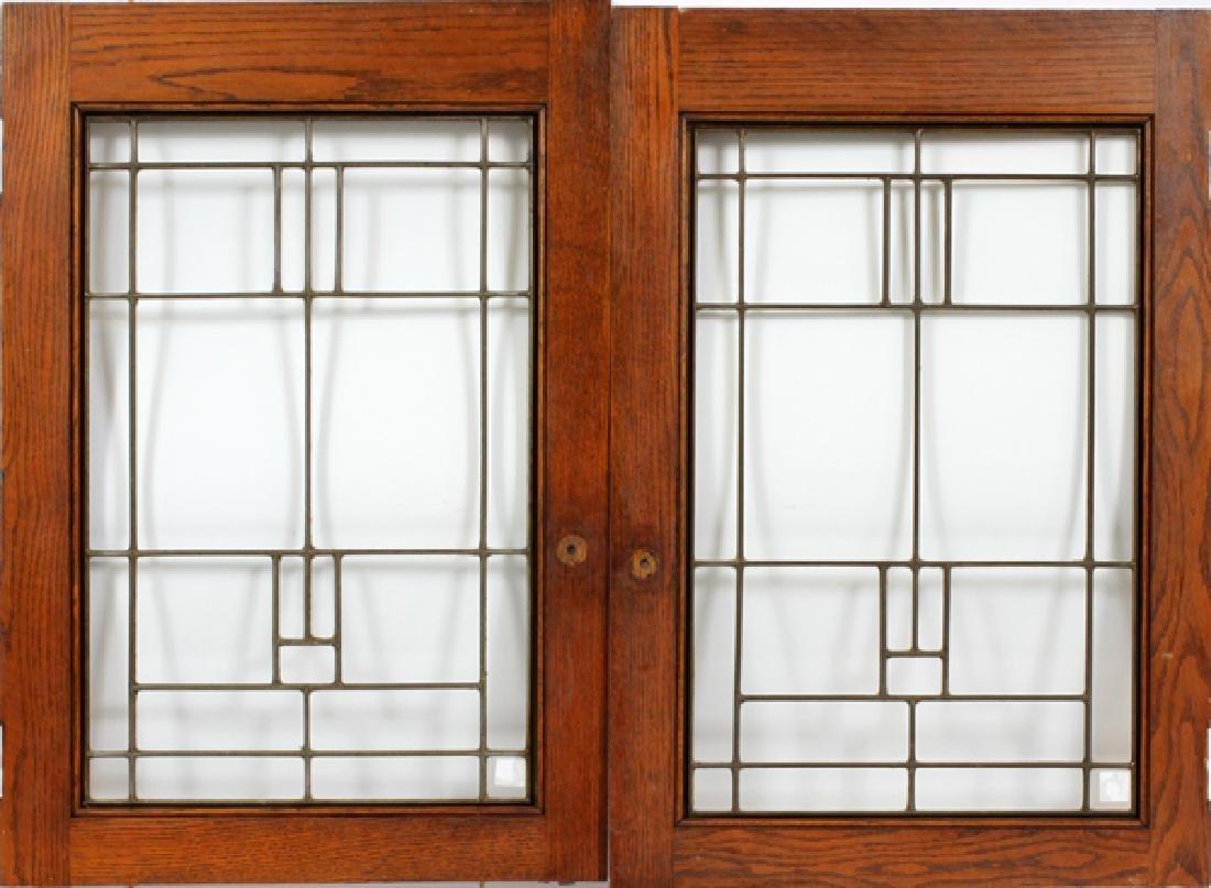LEADED GLASS WINDOWS, C 1900