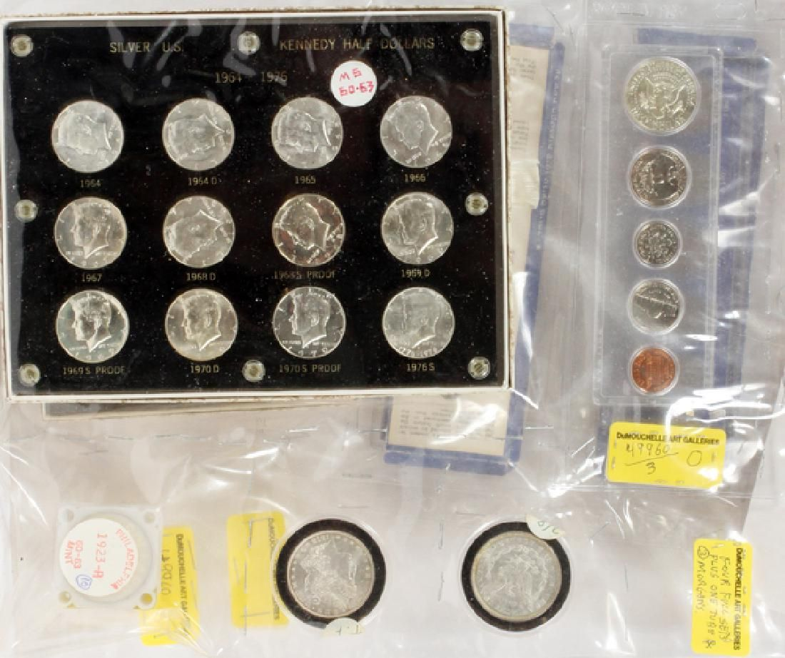 U.S. PROOF/UNCIRULATED COIN COLLECTION 1878-