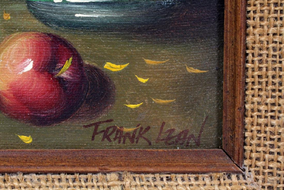 FRANK LEAN OIL ON BOARD LATE 20TH C. - 2