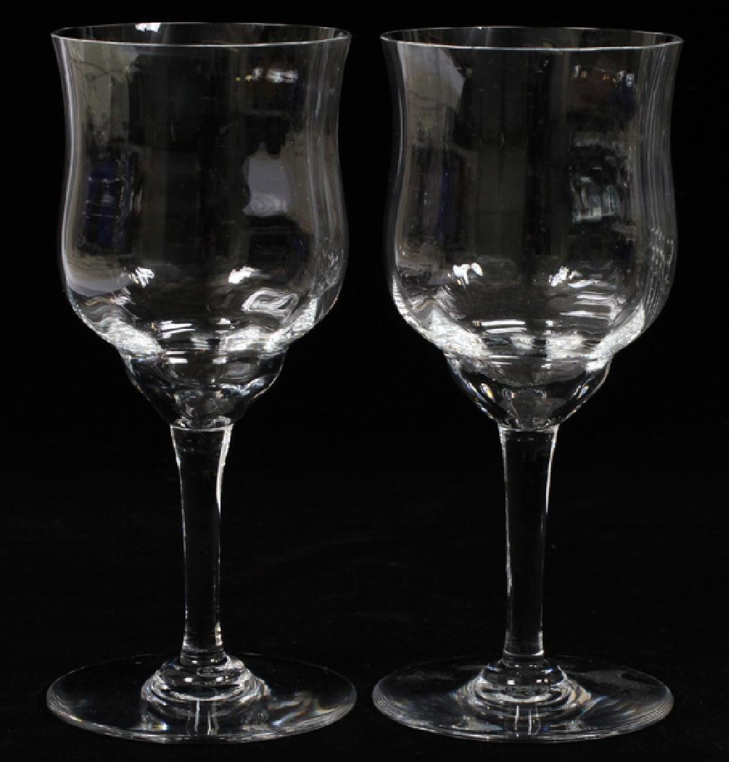 "BACCARAT WINE GLASSES, 11, H 7"", DIA 3"" - 2"