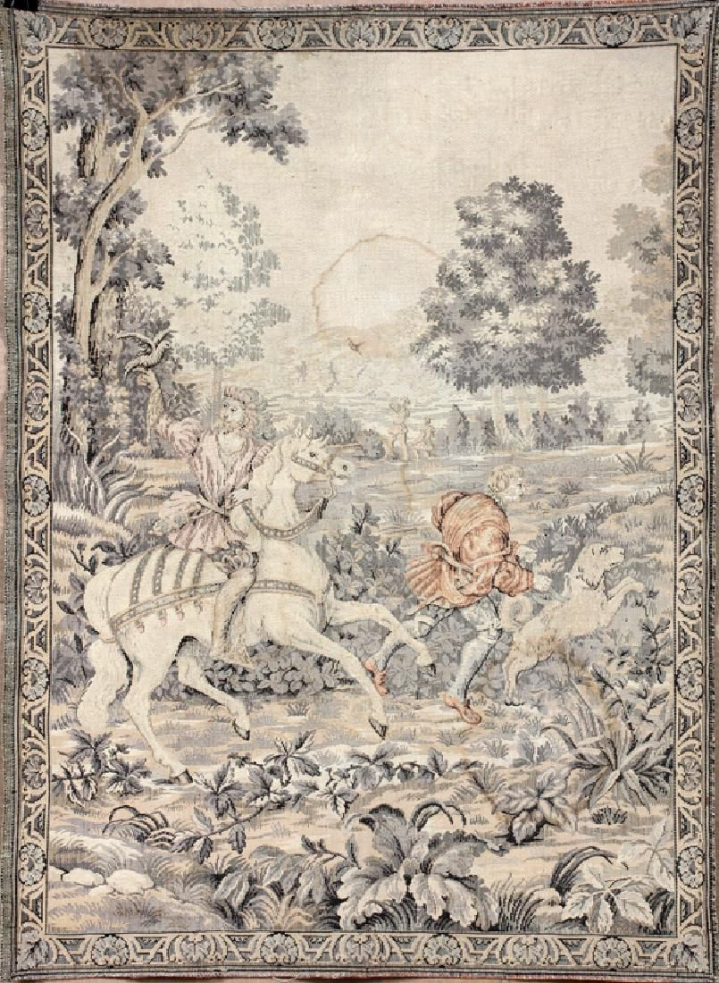 FRENCH TAPESTRY H 37 W 27