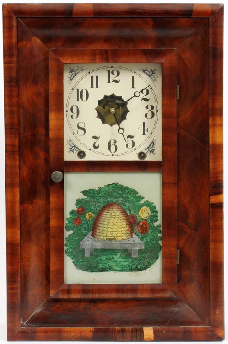 NEW HAVEN CLOCK COMPANY, MANTLE CLOCK, 19TH C.