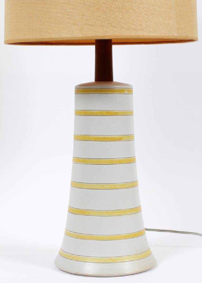 GORDON & JANE MARTZ CERAMIC LAMP