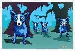 "GEORGE RODRIGUE ""WALKIN' TO NEW ORLEANS"""