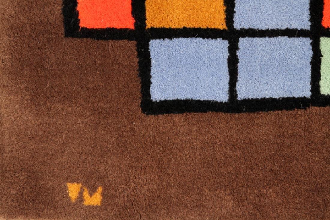 PAUL KLEE DESIGNED WOOL RUG C. 1970'S - 3