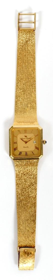 LUCIEN PICCARD GENTLEMAN'S 14KT GOLD WATCH - 2