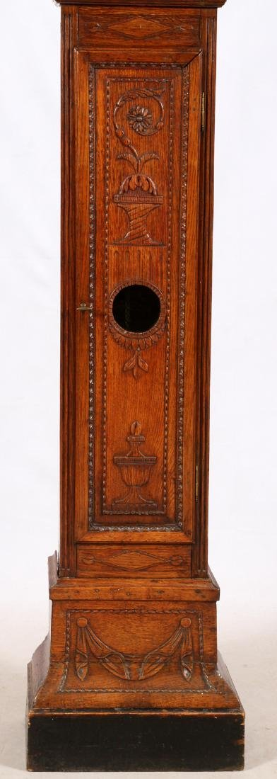 BASTIEN HANS MAFAIT 1769 OAK GRANDFATHER CLOCK - 3