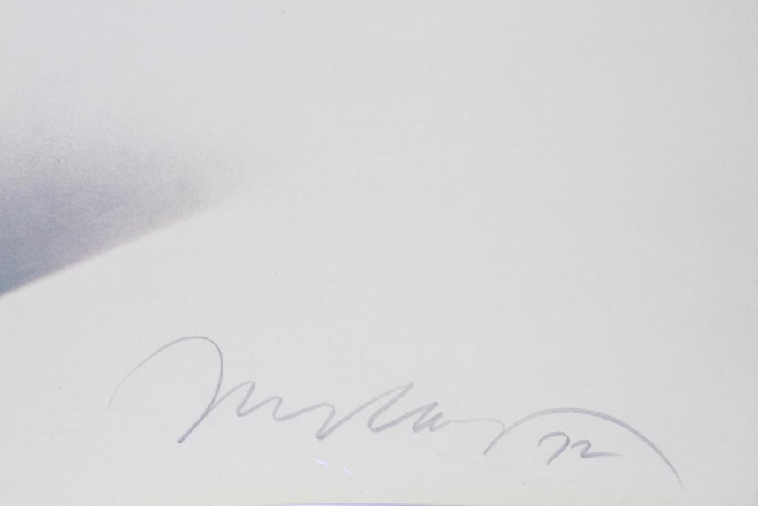 MEL RAMOS SIGNED OFFSET LITHOGRAPH 1972 - 3