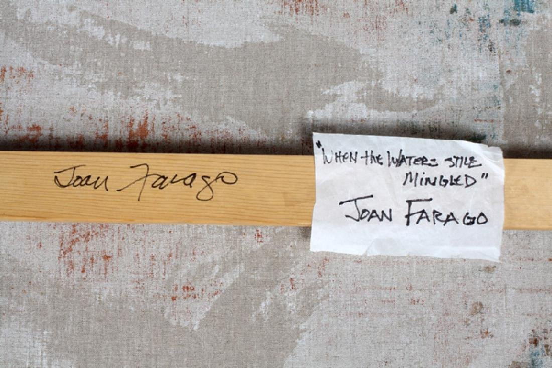 JOAN FARAGO ACRYLIC ON LINEN - 4