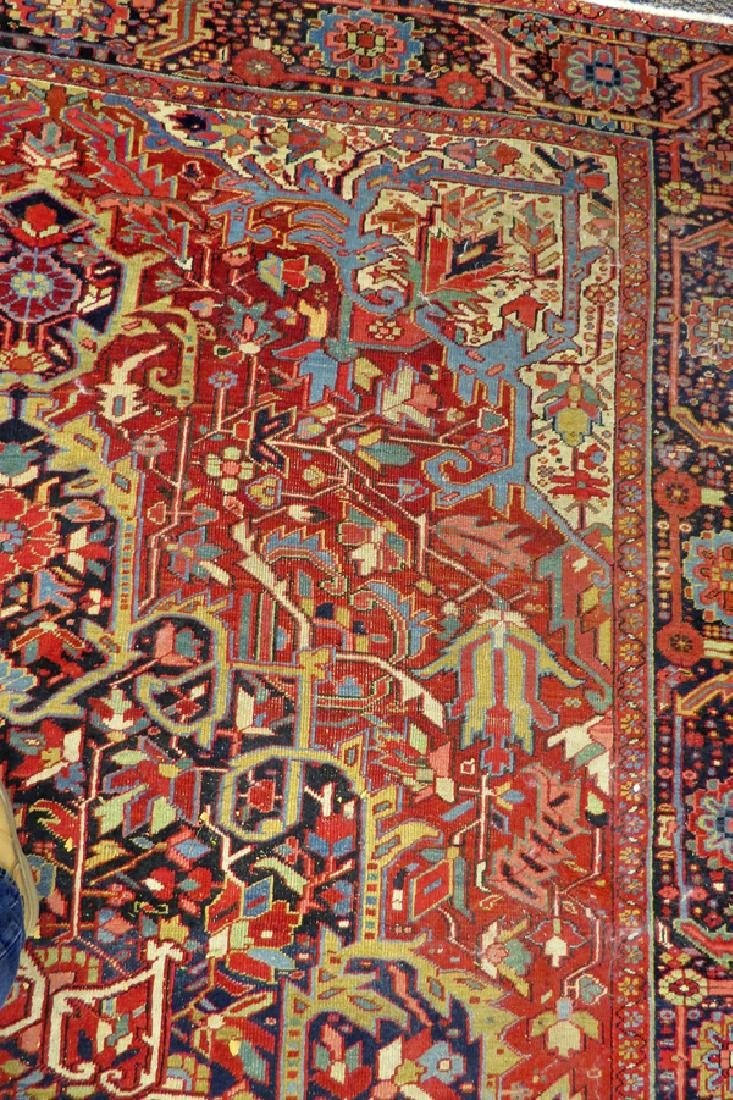 "PERSIAN HAND-WOVEN WOOL CARPET, W 8'3"", L 11'8"" - 5"
