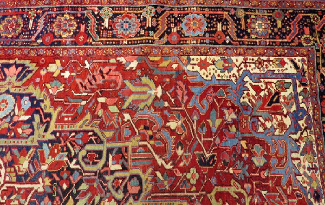 "PERSIAN HAND-WOVEN WOOL CARPET, W 8'3"", L 11'8"" - 6"