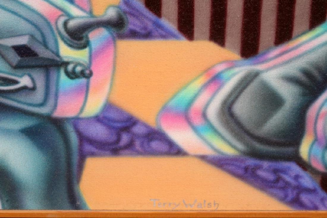 TERRY WALSH ACRYLIC AIRBRUSH ON CANVAS - 2