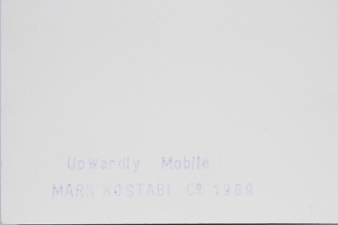 """MARK KOSTABI SCREENPRINT 1989, H 39 5/8"""", W 30"""" - 5"""