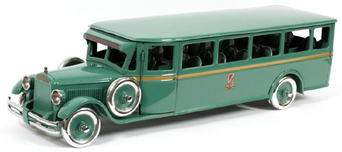 BUDDY L, CHILD'S,  PRESSED METAL MOTOR BUS