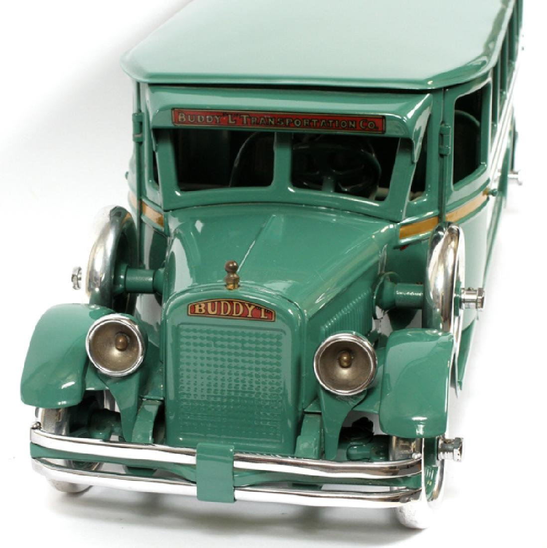 BUDDY L, CHILD'S,  PRESSED METAL MOTOR BUS - 2