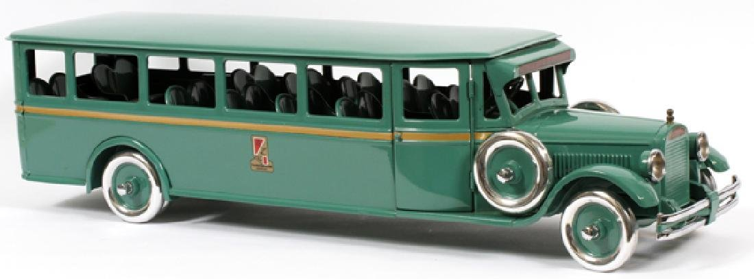 BUDDY L, CHILD'S,  PRESSED METAL MOTOR BUS - 3