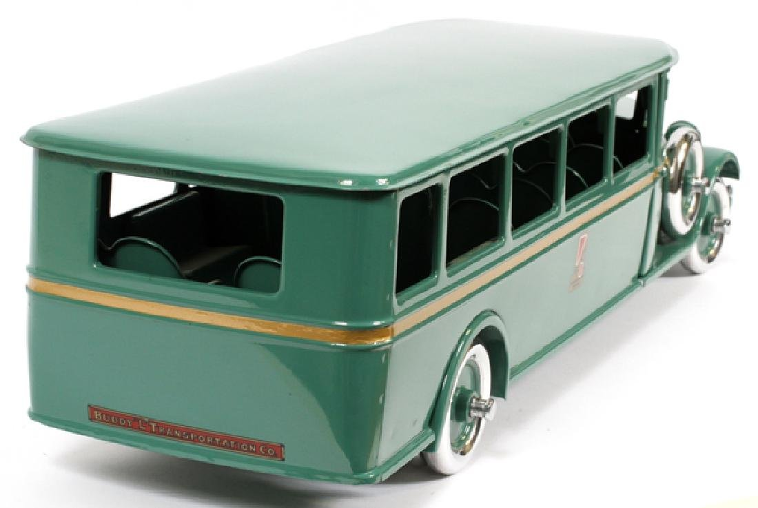 BUDDY L, CHILD'S,  PRESSED METAL MOTOR BUS - 4